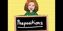 PRIMARIA - 3º - PREPOSITIONS EXTENDED - ENGLISH - FORMACIÓN