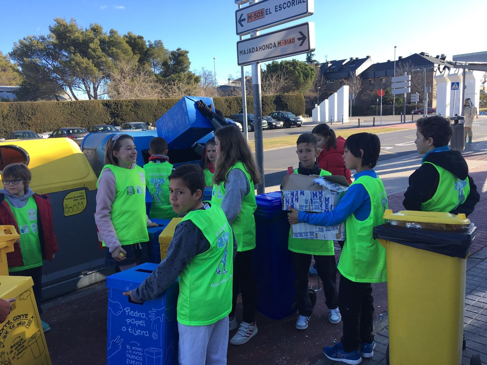 2018_02_EcoPatrullas reciclando_CEIP Fernando de los Ríos_Las Rozas 1