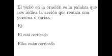 PRIMARIA 5º - VERBO MODO INDICATIVO - LENGUA Y LITERATURA - FORMACIÓN