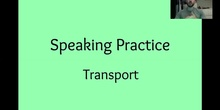 Unit 6: Speaking Practise
