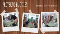 Proyecto Buddies: primer contacto 3 años y 4º primaria