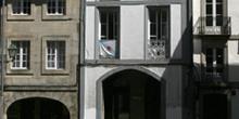 Calle de Santiago de Compostela, La Coruña, Galicia