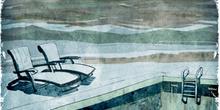 La piscina imposible: Piscina vacía