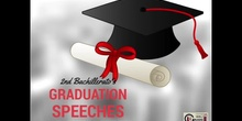 GRADUATION SPEECHES 2016