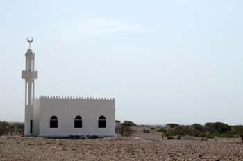 Mezquita, Rep. de Djibouti, áfrica