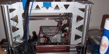 Impresora 3D modelo Prusa i3 Steel terminada