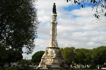 Columna, Torre de Belem, Lisboa, Portugal