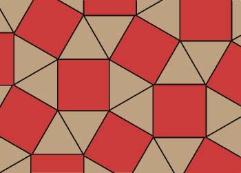 Mosaico 3, 4, 3, 4