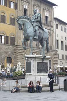 Estatua en Piazza della Signoria, Florencia
