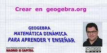 Crear actividades en geogebra.org