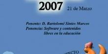 Boadinux 2007 - Software y contenidos libres en la educación