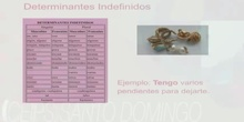 2ºS GRAMÁTICA LOS DETERMINANTES. TRIANA ALFAYA