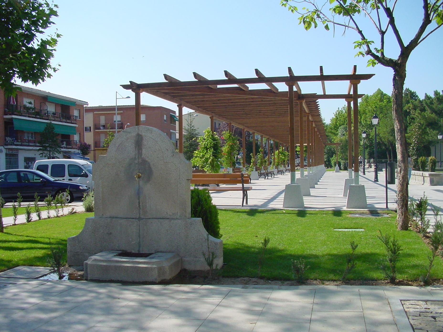 Parque en Villanueva de la Cañada