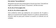 TERCERA ENTREGA TRABAJO 4 ESO MATEMÁTICAS APLICADAS CARLOS MATEO ALEMÁN