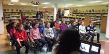5ºA Visita la Biblioteca Municipal_CEIP FDLR_Las Rozas_2019-2020 5