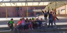 1B Visita el Huerto del CEIP El Greco
