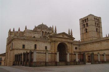 Vista general de la Catedral de Zamora, Castilla y León