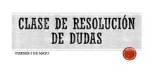 DUDAS FUNCIÓN RELACIÓN