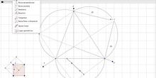 Hexaedro 2 Cubo Sección principal perpendicular a XOY S.Axonométrico