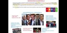 DEMOCRACIA ESPAÑOLA