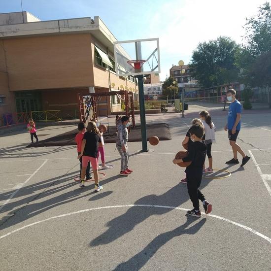 Vista basket segundo B 3