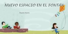 Nuevo espacio en el Fontán. Nuestro huerto en infantil.