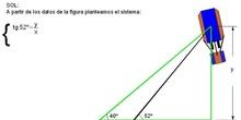 Trigonometría: 30.Problema del globo