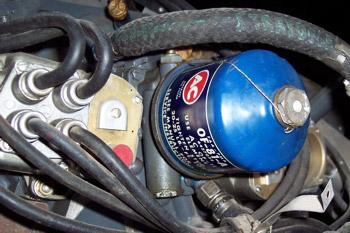 Filtro de aceite metálico desechable