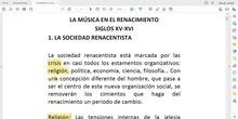 LECTURA-EXPLICACIÓN LA MÚSICA EN EL RENACIMIENTO PARTE 1