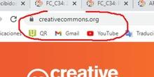 Licencia Creative Commons en infografía con PikToChart