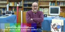 Entrevista al director del IES Rey Pastor sobre la Unión Europea