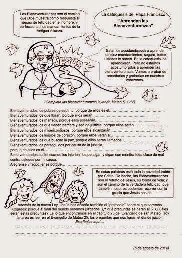 FICHAS BIENAVENTURANZAS 10