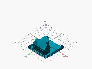 Diseño 3D casa HB