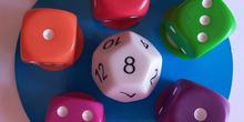 Juego dados: Math dice jr. 3