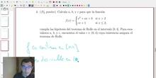 Modelo B Ejercicio 4 Análisis de Matemáticas II