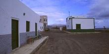 Calles vacías de pueblo abandonado, Canarias