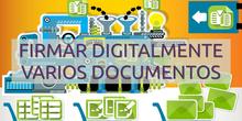 Firmar digitalmente múltiples archivos