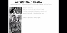 SECUNDARIA - ALFONSINA STRADA - MUJERES PARA LA HISTORIA