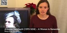 Invisible Women in History: Artemisia Gentileschi