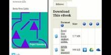 Lectoescritura digital móvil 1. Leyendo con Google Play Libros