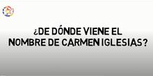 Nombre Carmen Iglesias