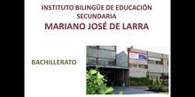 IES Mariano José de Larra. Bachillerato 2021-22