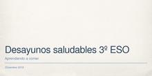 DESAYUNOS SALUDABLES-3ºESO