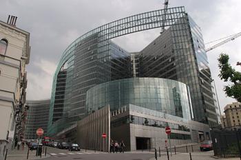 Arquitectura moderna en Bruselas, Bélgica