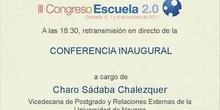 Conferencia Inaugural. Charo Sádaba