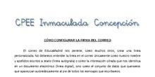 Tutorial - Correo: cómo configurar la firma