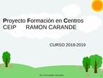 Trabajar con MAX LINUX CEIP RAMÓN CARANDE