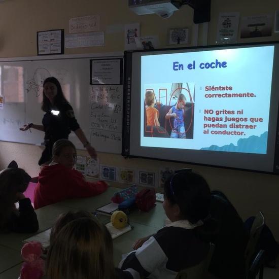 2019_10_5ºB_Educación Vial_CEIP FDLR_Las Rozas 6