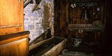 Casa de campesinos (s.XIX): Ferrao, Museo del Pueblo de Asturias