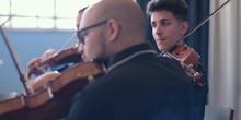 Concierto Juan Zaragüeta,. making off